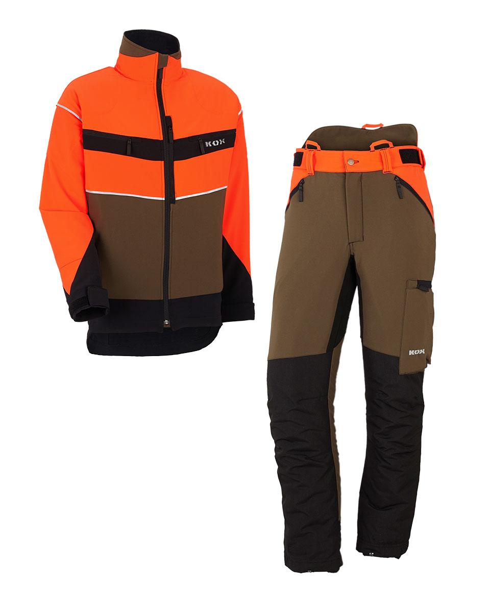 Équipements Professionnels Protection Contre Les Coupures Pantalon à Pinces Forestier Vêtements, Accessoires
