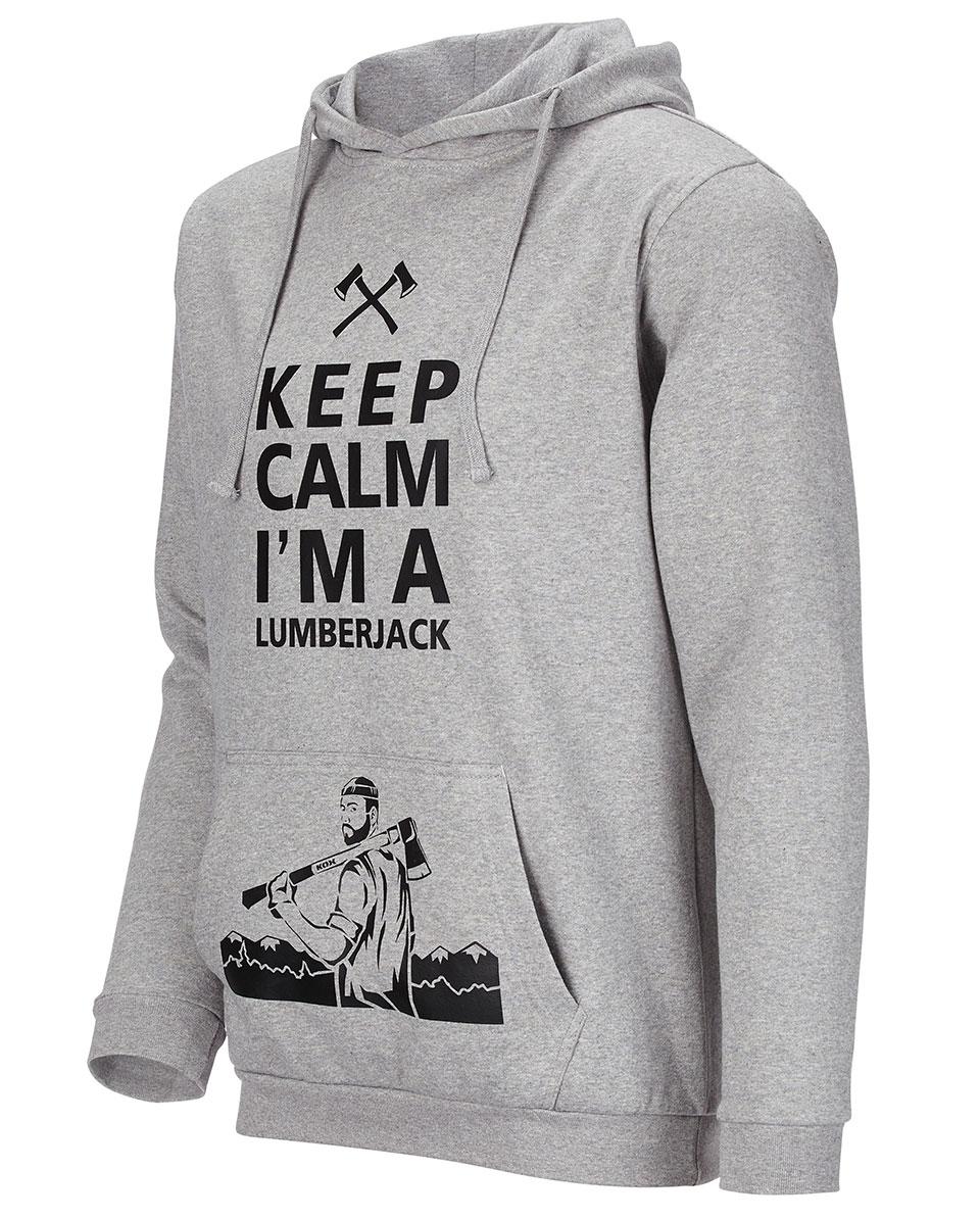Sweat-shirt de bûcheron, à capuche, signé KOX Image 2