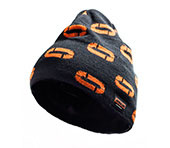Bonnet JOBMAN 8391 noir/orange