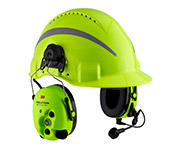 Combiné casque radio HiVis 3M Peltor WS ProTac XP Forestry