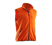 Veste polaire JOBMAN 7501 orange