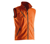 Gilet softshell JOBMAN 7502 orange