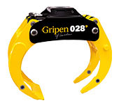 Grappin HSP DUO, Gripen 028 DUO, 0,28 m², 110-1690 mm, 3500 kg
