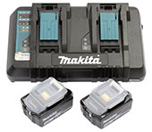 Makita Power Source-Kit 5,0 Ah, 2 x 18 V