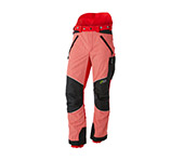 Pantalon de protection anti-coupures X-treme Vectran Rouge/noir