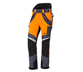 Pantalon anti-coupures X-treme Air orange/gris