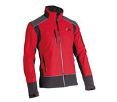 Veste Soft Shel - X-treme Shell rouge/noir