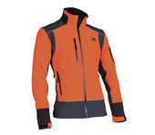 Veste Soft Shel - X-treme Shell orange/gris