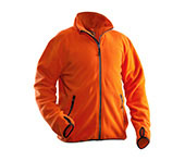 Veste polaire JOBMAN 5501 orange