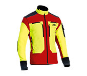 Veste technique X-treme Vario jaune/rouge